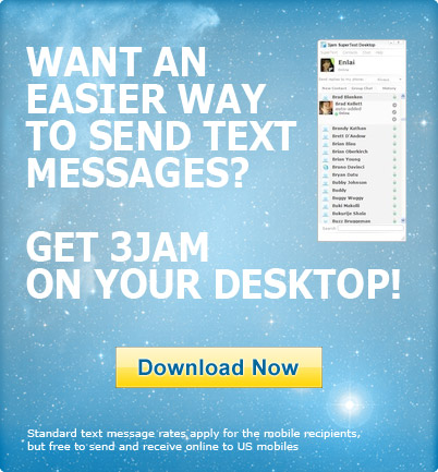 Send and receive messages from your PC with SuperText Desktop